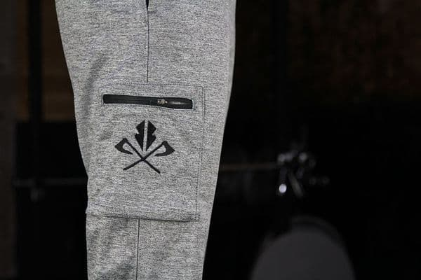 Combat Cuffed Joggers - Athletic Grey